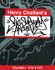 Original cover image of Henry Chalfant's Graffiti Archive